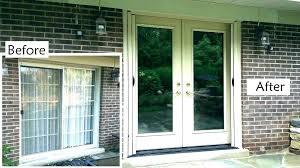 cost to install patio door patio door glass replacement cost amazing patio grout