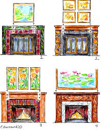 Small Picture Over The Fireplace Home Design New Marvelous Decorating In Over
