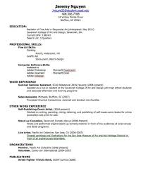 Examples Of How To Do A Resume How To Make A Resume For A Job Example Examples of Resumes 1