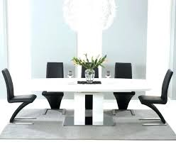 black dining table 6 chairs special dining room colors about white gloss dining tables black gloss