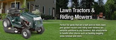 lawn tractors riding mowers by mtd products lawn riding mowers