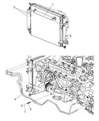2006 dodge charger transmission oil cooler diagram 00i98426