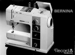 Bernina 930 Electronic Sewing Machine Manual