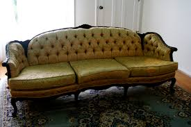 Old Couches Before And After The Antique Sofa A Rebekah Gough