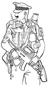 Police Coloring Pages Policeman Coloring Pages Police Officer