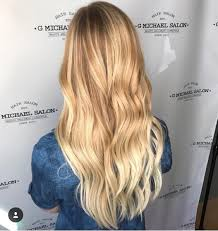 Sunny Hair Design Sunny Blonde Balayage By The Design Team At G Michael Salon