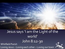 I Am The Light Jesus Says I Am The Light Of The World Ppt Download