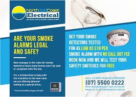 New Postal Flyer Special Offer On Smoke Detector Testing