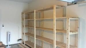 easy garage basement shelving shelves build storage
