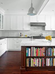 kitchens countertops and backsplash ideas with white cabinets