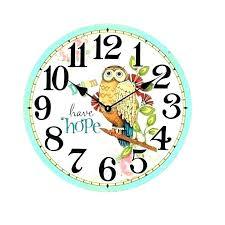 instruments wall clock clocks instrument digital chaney antiqued by