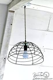 light more farmhouse style decor ideas flower basket pendant light creative rustic diy wire