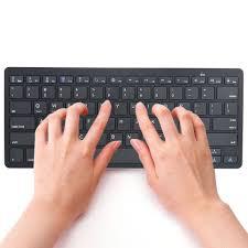 Human Oriented Design Mosunx Mb2 Slim Mini Bluetooth Wireless Keyboard Human Oriented Design Black High Quality Keypad Business Office Keyboard L0309