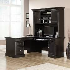 sauder l shaped desk with hutch