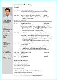Curriculum Vitae Samples Free Download Resume Resume
