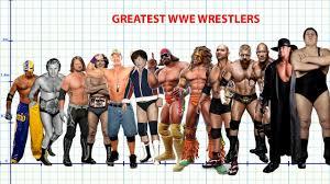 Greatest Wwe Wrestlers Height Comparison 2018