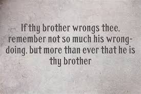 Brotherly Love Quotes Custom The Greatest Brother Quotes And Sibling Sayings