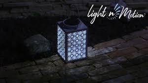 Light N Motion Light N Motion Square Metal Lantern White 2sp5608