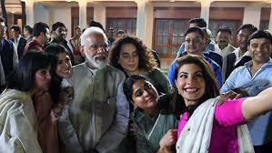 Narendra Modi Pm Modi Meets B Town Stars Discusses Ways To