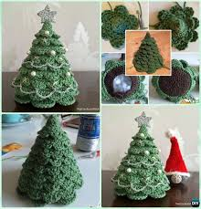 Crochet Christmas Tree Pattern New 48D Crochet Christmas Tree Free Pattern Christmas Crochet Patterns