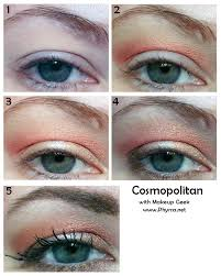 rosegold and copper tutorial