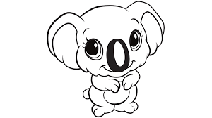 Small Picture Koala Coloring Pages GetColoringPagescom