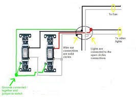 hey there i have 2 switches both are slide dimmers 1 is for Slider Dimmer Switch Diagram the diagram has switches, but dimmers will wire the same way remember, any dimmer on a fan must be rated for fan duty Leviton Dimmer Switch Wiring Diagram