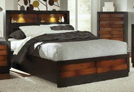 Queen Bed Frame With Headboard Storage