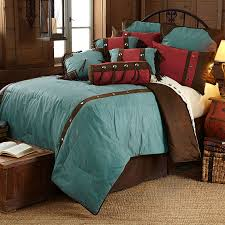 western comforter sets cheyenne turquoise fl design bedding set 11