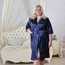 plus size silk robe plus size satin robe with lace dressing gown wedding robe