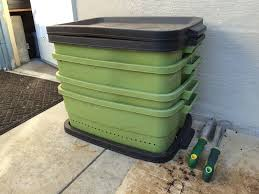 picture of make black gold with diy worm compost bins
