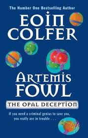 opaldeception jpg first edition cover author eoin colfer translator franche country ireland age english series artemis fowl series