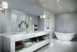 Bathroom:Amazing Bathroom With Towel Racks And Big Wall Mirror Design Ideas  Amazing Bathroom With