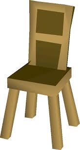 wooden chair. Wooden Chair Built