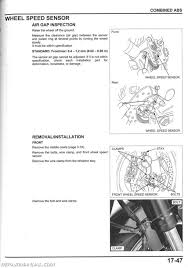 used honda cbrrr motorcycle service manual repair 2008 2014 honda cbr1000rr service manual page 2