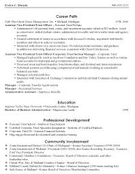 Assistant VP Trust Officer Resume