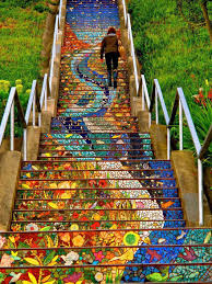 Painted Stairs 17 Beautifully Painted Stairs From All Over The World 7 Is Insane