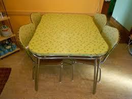 1950 Kitchen Furniture Vintage 1950s Kitchen Set Retro Formica Chrome Kitchen