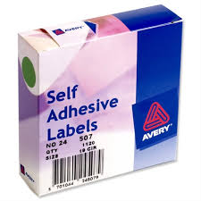 Avery Round Green Labels Dispenser For Diam 19mm 24 507 1120 Labels