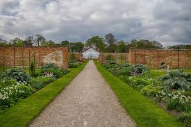 Walled Kitchen Gardens Jibberjabberuk Walled Kitchen Garden At Clumber Park In April