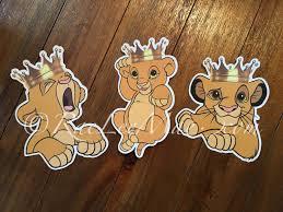 Lion King Bedroom Decorations Lion King Nursery Etsy