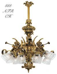 vintage antique reion cupid or cherub lights