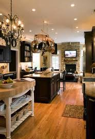 Open Floor Plan Kitchen Design Open Kitchen Floor Plans With Island Gallery Us House And Home