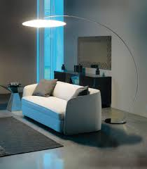 Floor Lamp Modern Living Room Idea Using Grey Accents Wall Paint