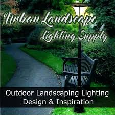 urban landscape lighting supply