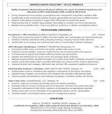 Administrative Professional Assistant Resume Sample Linda Management ...