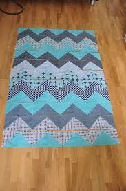 Best 25+ Chevron quilt pattern ideas on Pinterest | Chevron quilt ... & Zig zag quilt idea for surf/sushi fat quarters Adamdwight.com