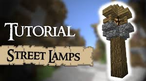 Minecraft Tutorial How To Build Street Lamps