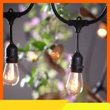 Đèn dây ngoài trời 1M 3 đui (dây loại 1 tròn lớn) chưa bóng 💖FREESHIP💖  giảm 10k khi nhập [ĐÈN THẢ] Đèn Led