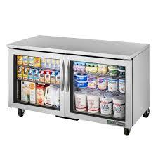 undercounter refrigerator commercial refrigerator 2 glass door 60 1 4 inch wide
